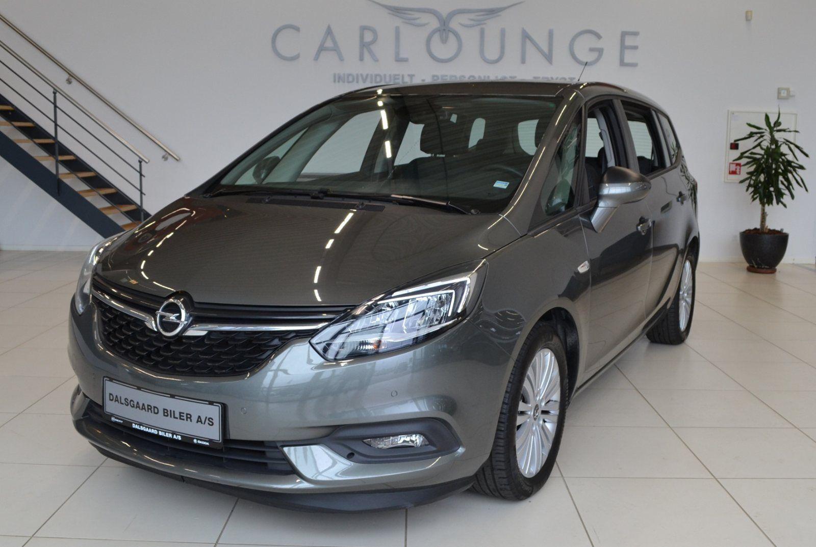 Opel Zafira Tourer 1,4 T 140 Family 5d - 249.900 kr.