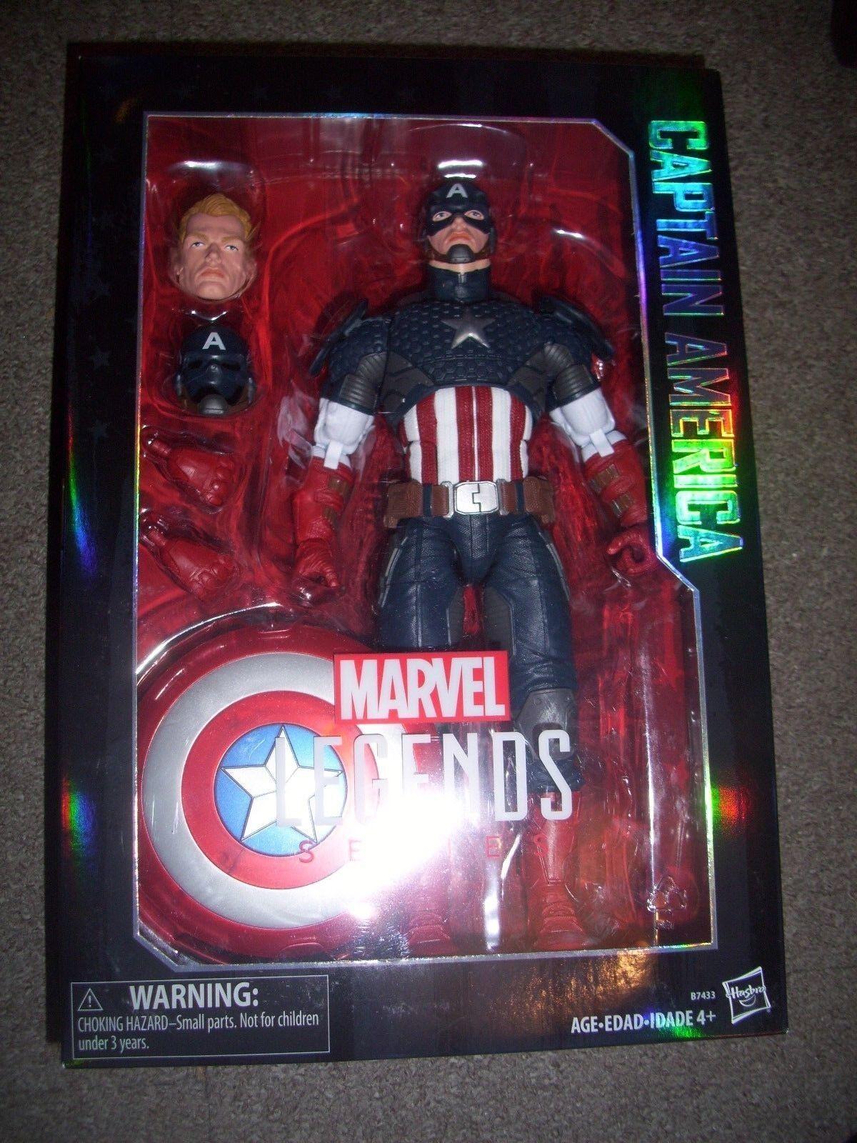 Marvel The Avengers Legends Series Captain America 12-Inch figure. still sealed