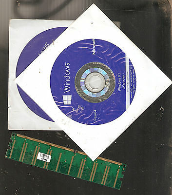 Microsoft Windows 8.1 PRO 64-Bit Full Hebrew Version DVD