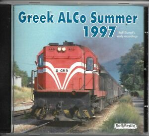 RailMedia Railway CDs - 44 Total Professional Produced CDs - 8 Titles - NEW OS