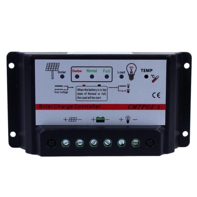 20A 12V/24V Auto Switch MJиT Solar Panel Battery Regulator Charge Controller Jи