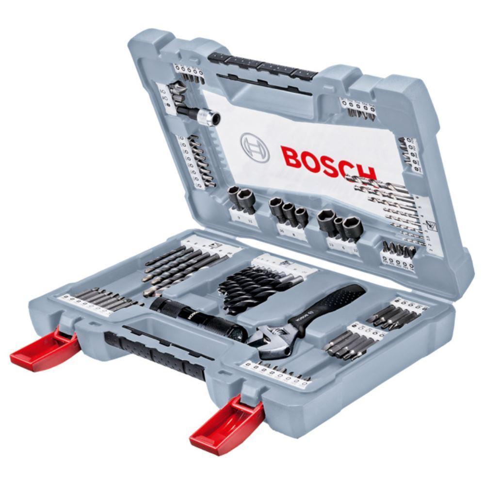 BOSCH Bits & Bohrersatz 91-tlg. Premium Set