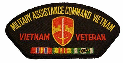 Old Patch Full Color Military Assistance Command Vietnam