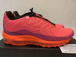 reputable site dec44 5bb15 Details about Men's Nike Air Max Plus 97 Racer Pink/ Hyper Magenta size 9