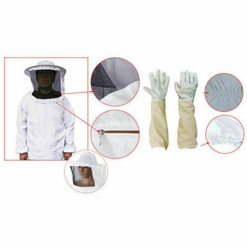Beekeepers Schutzanzug Imkerjacke Hut Schleier Imker Jacke Imkerei Handschuhe