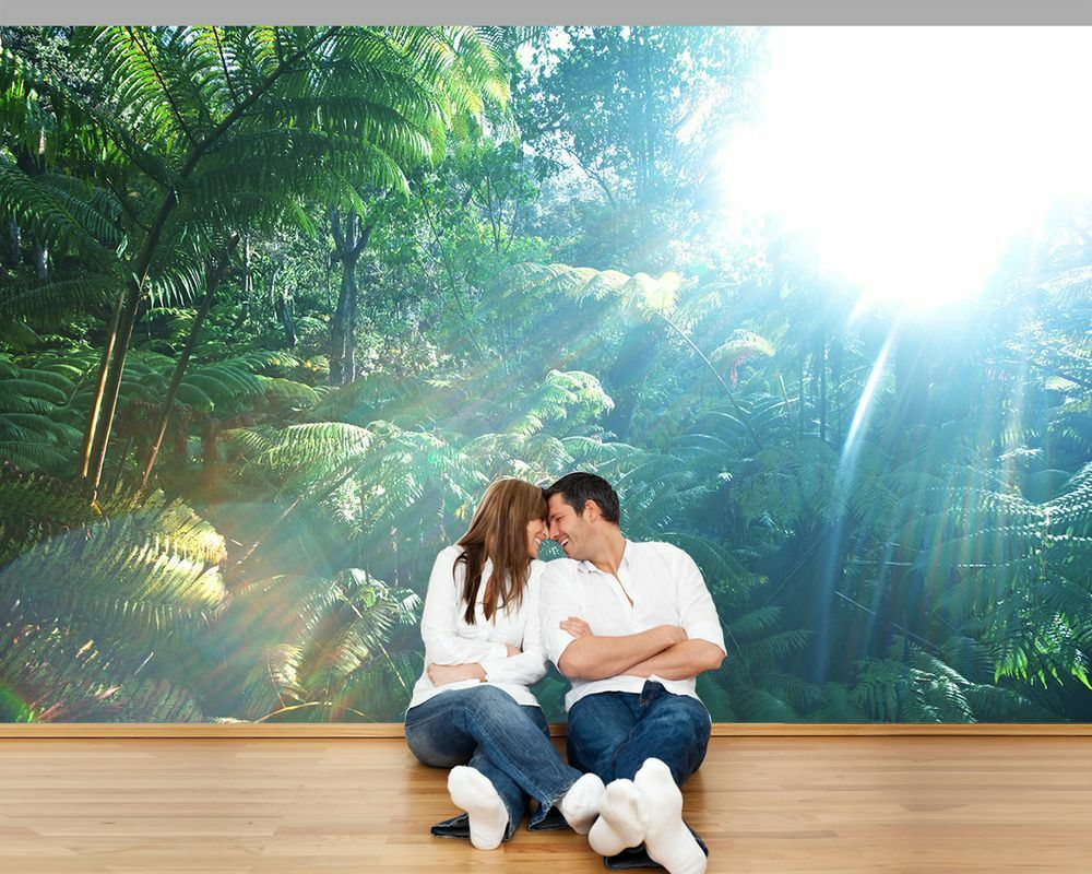 Fototapete - Regenwald in Hawaii