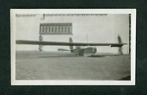 Vintage-photo-Alexander-Schleicher-ASK-14-primitive-Early-planeur-avion-407107