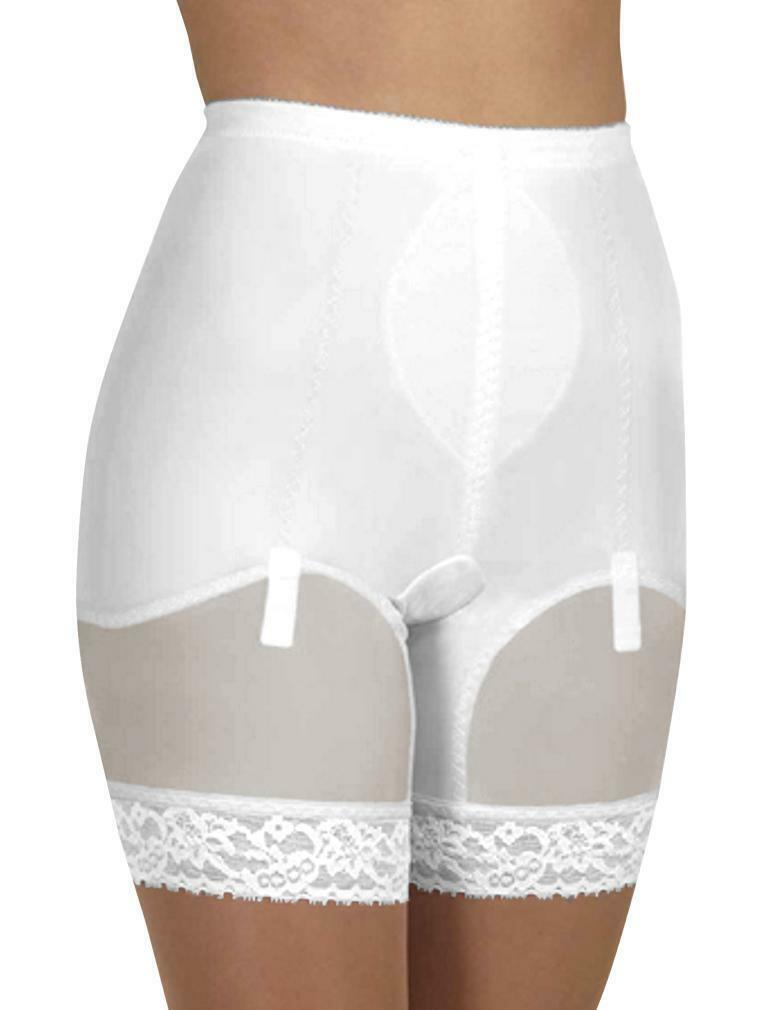 Cortland Shapewear Firm Control Hi-Waistline White Shaper Panty Size 36 3XL