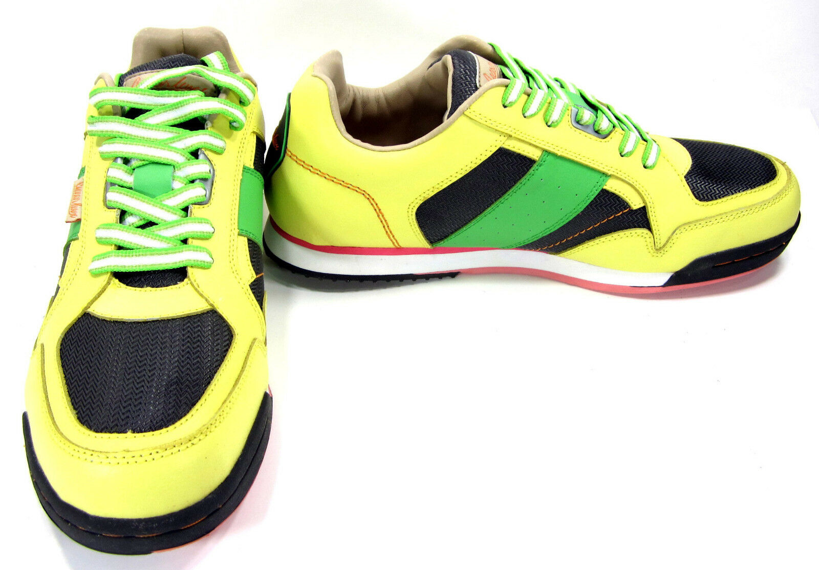 Ceaser Lunix Shoes CLX Runner SP Yellow/Green  Size 13