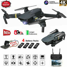Drone X Pro WIFI FPV 1080P 4K HD Camera 3Batteries Foldable Selfie RC Quadcopter