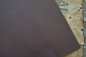 Marron foncé cuir pleine fleur vachette pieces 2-2.4mm d  épaisseur divers  taille, craft c512b81da08