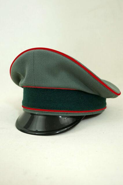 f1c9a109648 WWII German Heer Artillery Officer Gabardine Visor Cap for sale ...
