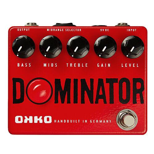 Okko Guitar Effects Handbuilt in Germany - Dominator - Verzerrerpedal