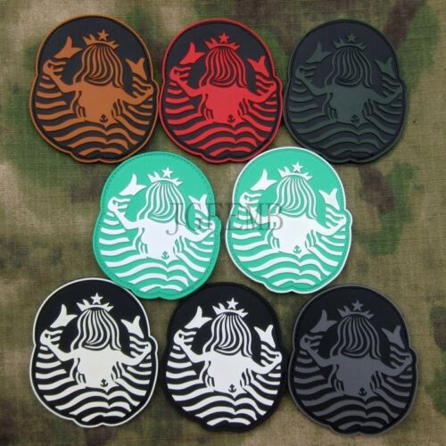 Starbucks Coffee Starbucks at the back Tactical Morale 3D PVC Patch