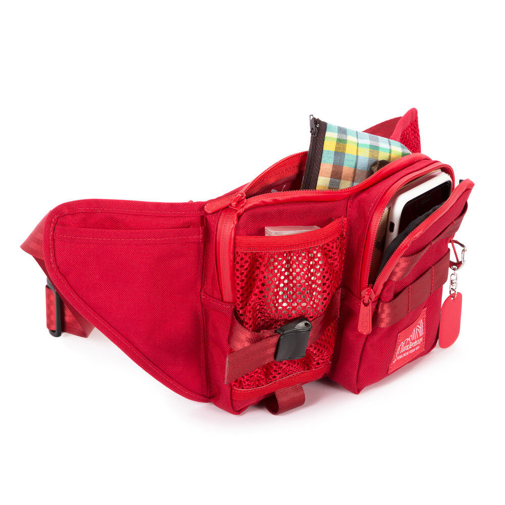 5a4cb08bed34 Manhattan Portage Puma Echelon Waist Bag - Red 1155 Limited Edition for  sale online