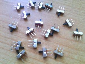 Mini interrupteur coulissant interrupteur micro interrupteur coulissant Max 24v on/off 8,5 x 4,5 MM  </span>