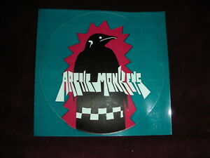 Arctic-Monkeys-Blue-Round-Sticker