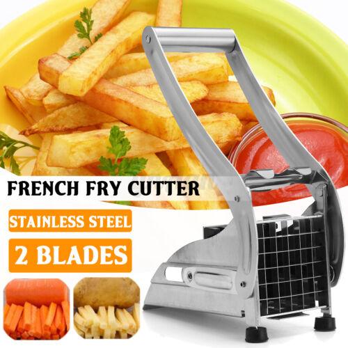 Potato Chipper Cutter Chopper Slicer Tool French Fries Chip Vegetables Fruit T