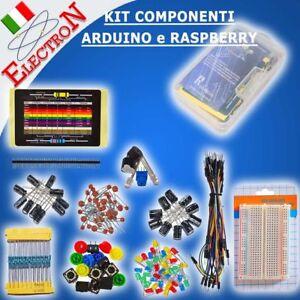 KIT-COMPONENTI-ARDUINO-UNO-RASPBERRY-BREADBOARD-400-CONTATTI-LED-BUZZER-E4-2