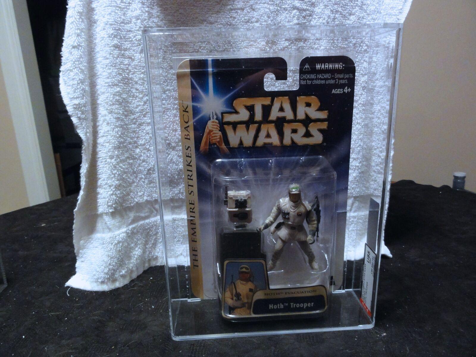 Star Wars 2004 ESB Gold Hoth Trooper AFA Sealed MIB BOX