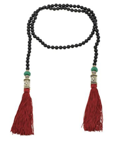 Heidi-Daus-034-Lovely-Lux-034-Beaded-Tassel-Drop-40-034-Lariat-Necklace-RET-230-Green