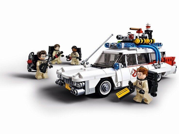 Lego Ghostbusters Ghostbusters Ghostbusters 21108 ECTO-1 car Ghost Paranormal Predon Discontinued NISB 1d0b01