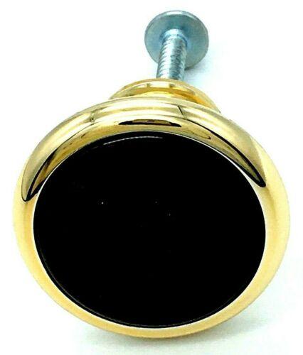 867 GOLD WOOD KNOBS 34mm kitchen cupboard door cabinet drawer knob