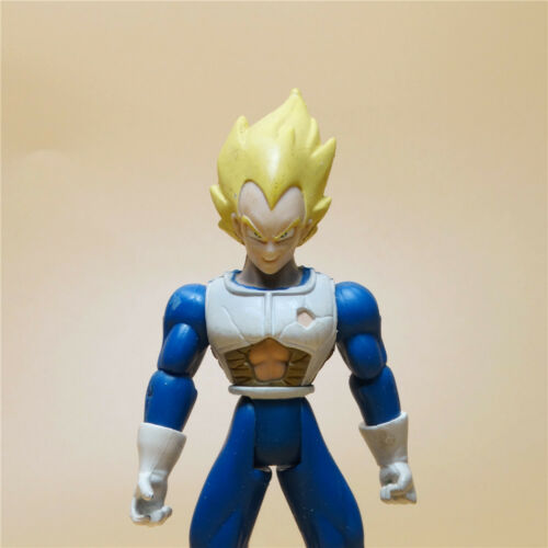"2003 JAKKS Dragonball Z DBZ  Collection SS VEGETA action figure 5.5/"" OLD"