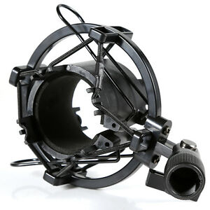 New Universal Mic Microphone Shock Mount Clip Holder Studio Sound Recording *