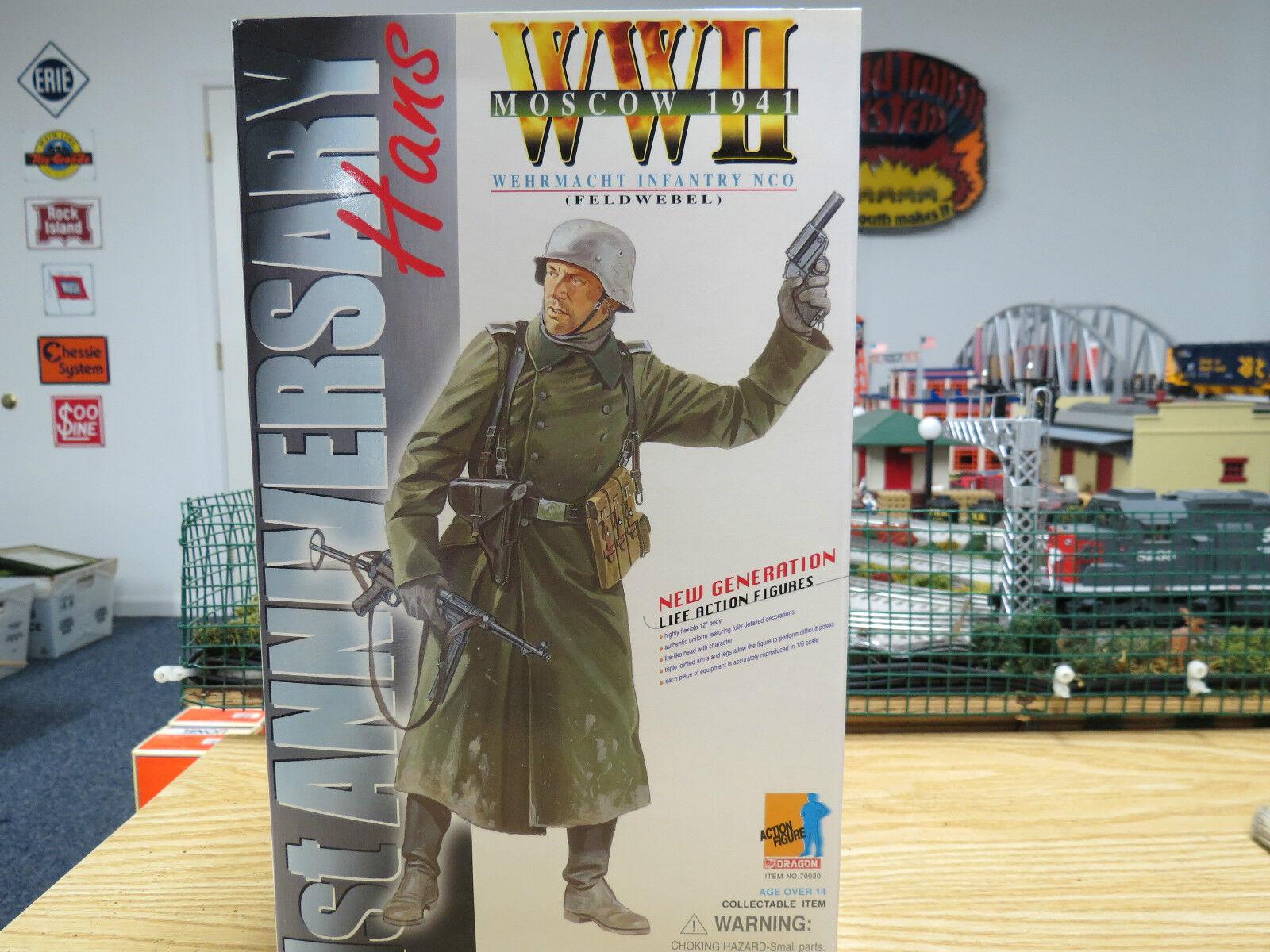 Dragon Rare WW II Moscow  1941 Wehrmacht Infantry NCO   Hans  ,  Mint Condition  vendita di fama mondiale online