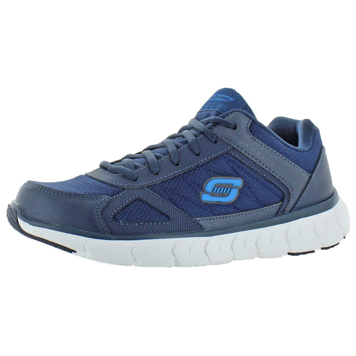 Skechers Mens Soleus-Distort Leather Trainer Walking shoes Sneakers BHFO 0929