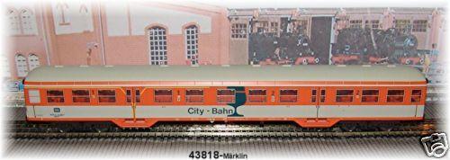 43818 SUPPLEUomoTO VAGONI   CITY Railway   DB   NUOVO conf. orig.