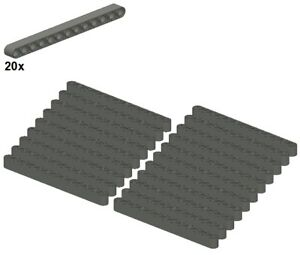 LEGO-Technic-Liftarms-Darkbluishgray-41239-09-1x13-20Stk-Balken-D