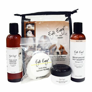 Eye-Envy-Tear-Stain-Remover-Tearstain-Removal-NR-Pack-amp-Shampoo-for-Cats-Kittens