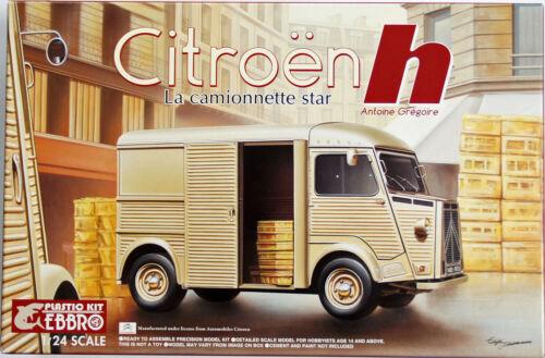 Ebbro 25007 Citroen H Van Master Series F-1 1//24 Scale Plastic Model Kit