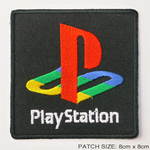 sony playstation 1 2 3 4 video game logo embroidered iron on patch rh ebay com playstation 1 logo png playstation 1 logo png