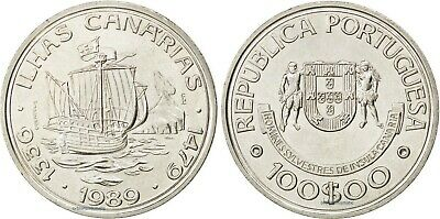MADEIRA ISLANDS 1989 PORTUGAL 100 Escudos PORT SAINT 100$00 UNC G311
