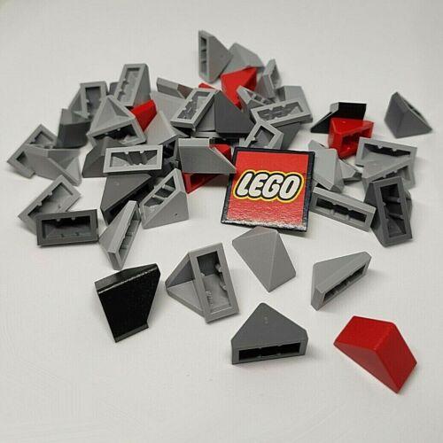 3048 x4 LEGO Slope 45° Bricks 1x2 Roof Tiles 3049 Design 3044