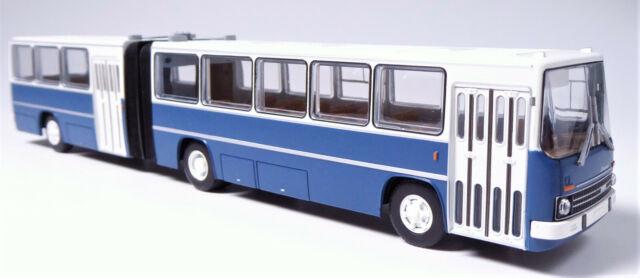 H0 BREKINA Ikarus 280.03 Gelenkbus Überlandbus grünblau 2 Einstiegtüren # 59751