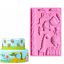 3D Animal Silicone Fondant Mold Cake Decorating Chocolate Baking Mould Mat Tools