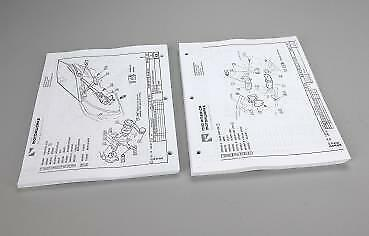 C2 Corvette 1967 Assembly Instruction Manual Loose Pages for 3-Ring Binder