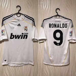 8e2db28c99081 Image is loading REAL-MADRID-2009-2010-HOME-ADIDAS-FOOTBALL-SOCCER-