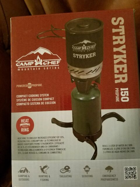 Camp Chef Stryker Stove Isobutane-Propane Compatible