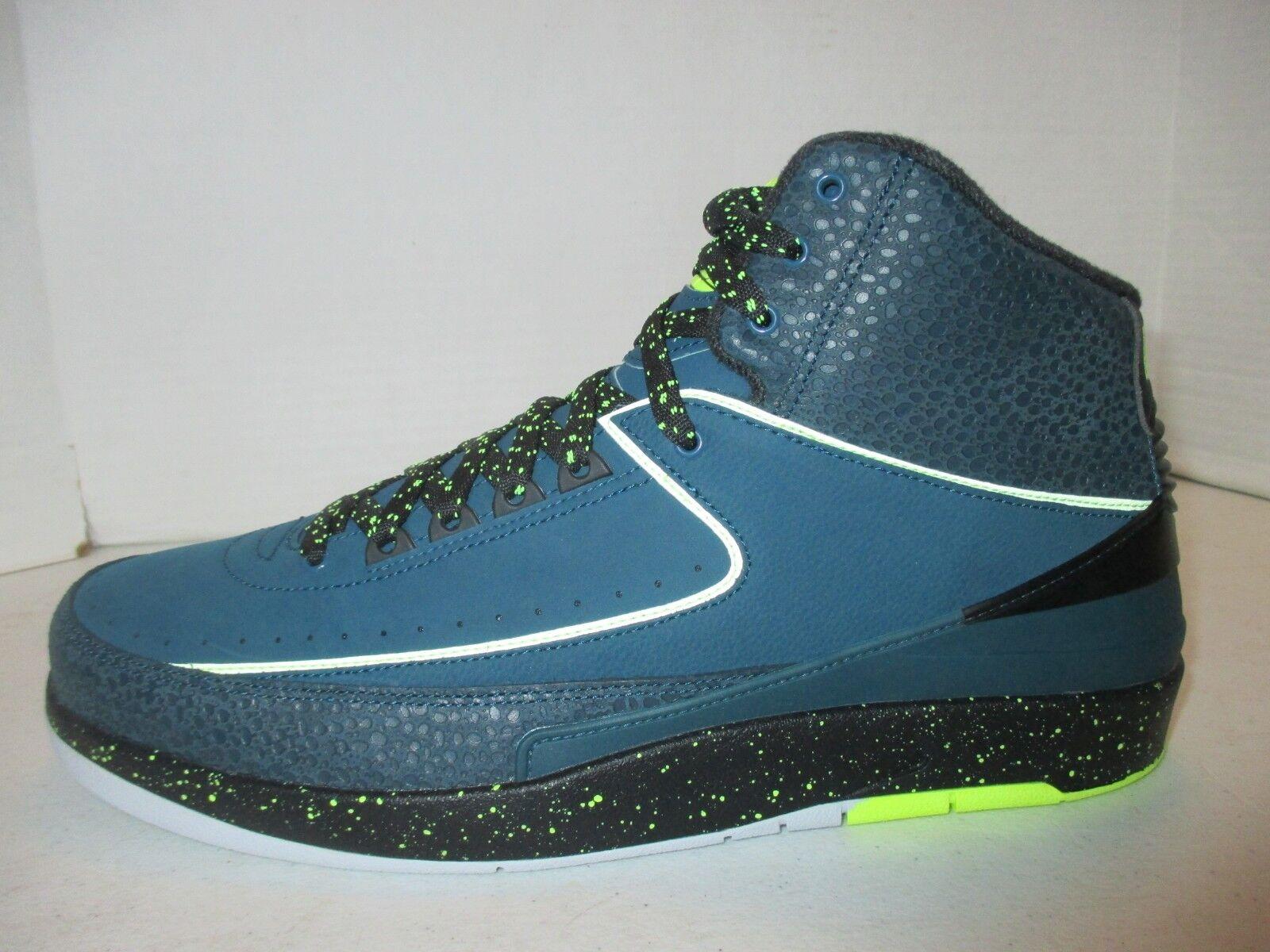 best sneakers 9f8f4 42631 Nike Air Jordan 2 II Retro Nightshade Size Size Size 14....385475