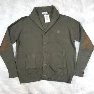maglione verde con Mens scialle a Nation 56 Gomitolo Gomitiere Parish nwt collo 4qzUgww