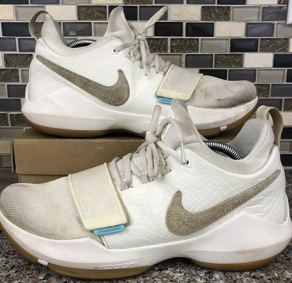 Nike PG 1 Ivory Oatmeal Gum Brown Paul