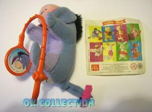 HAPPY MEAL MC DONALD'S Winnie the Pooh 2002_ personaggio ASINO IH-OH + cartina bJ0tsL1M-09105707-786148139