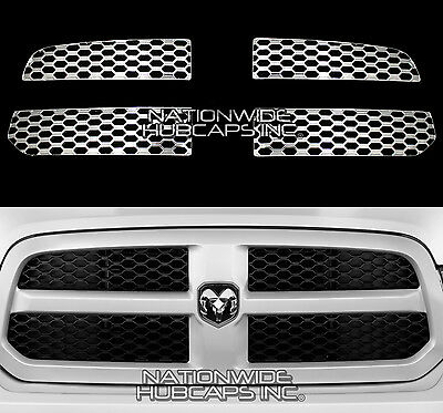 Chrome ABS Grille Insert fit for 2013-2018 Dodge RAM 1500
