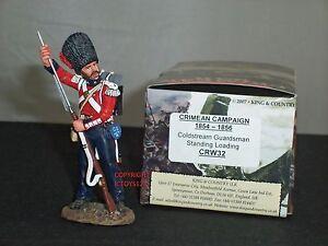 Roi et pays Crw32 Coldstream Guard permanent chargement figure de soldat de jouet