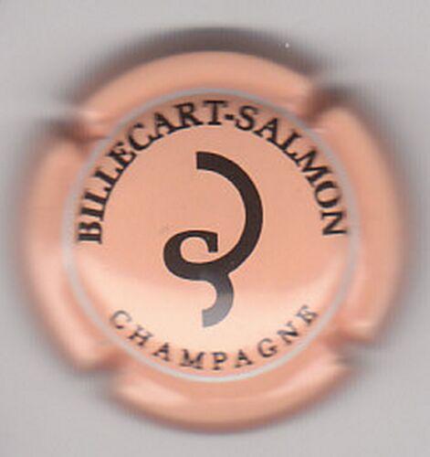 SUPERBE capsule champagne BILLECART SALMON saumon et noir